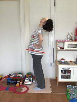妊娠中 反る姿勢